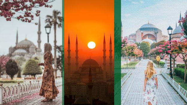 Весенние блоки в Стамбул