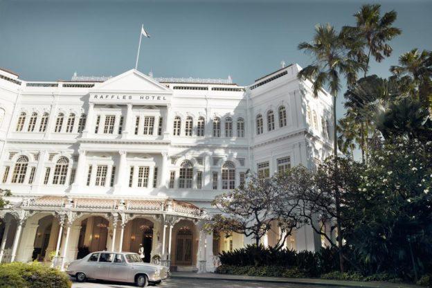 Открытие отеля RAFFLES SINGAPORE5*, Сингапур
