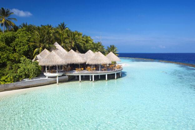 Комбинированное размещение туристов на Мальдивах